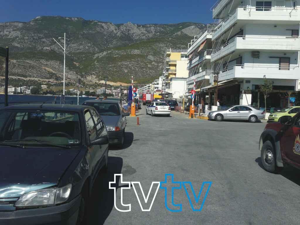 Φωτιά στο Λουτράκι 0 tvtv