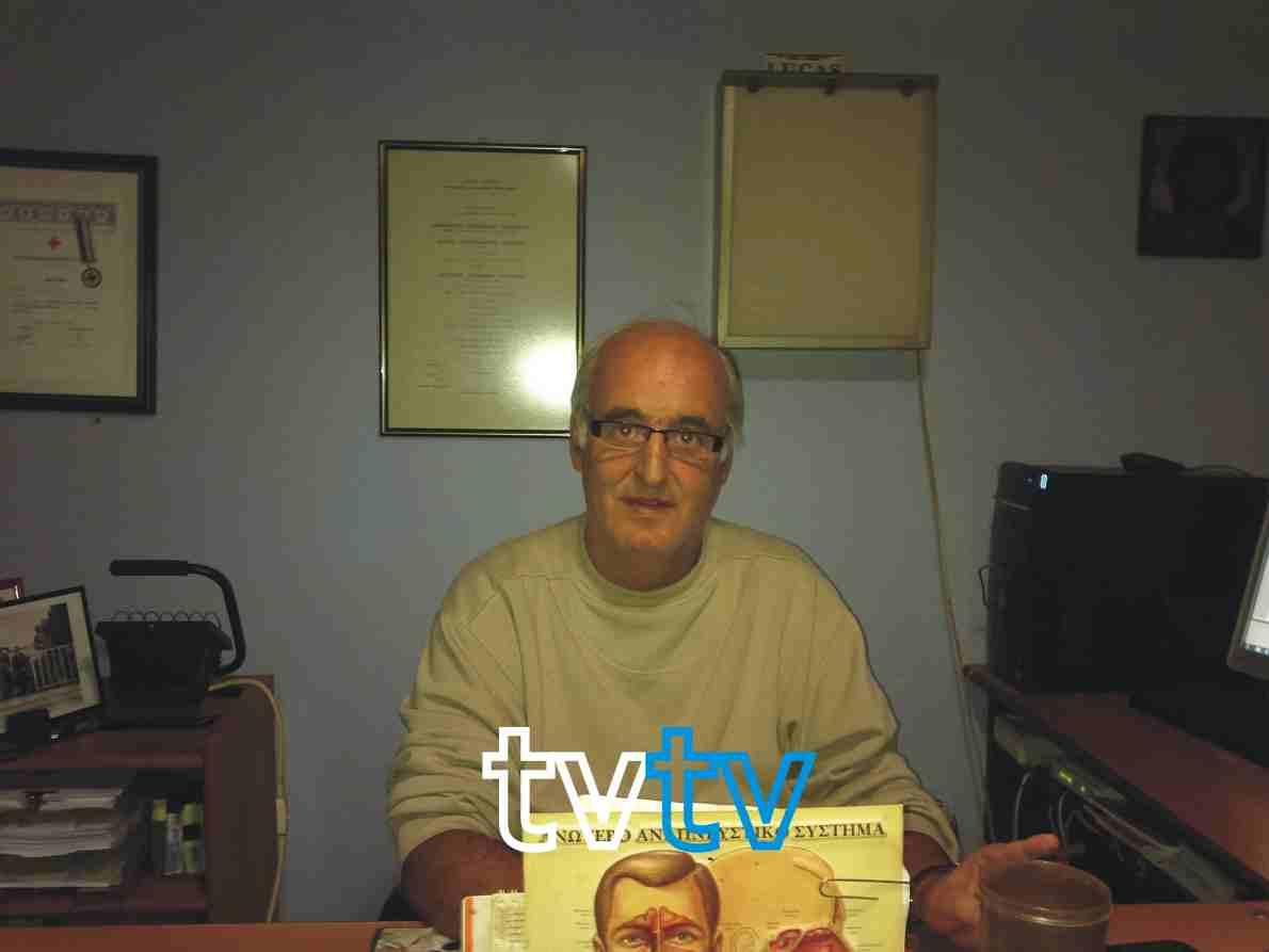 Ο Πρόεδρος του Δ.Ο.ΚΟ.Π.Α.Π. ιατρός Λουκάς Λούκας Συνένεντευξη στην Ελίνα Φανίδου, tvtv