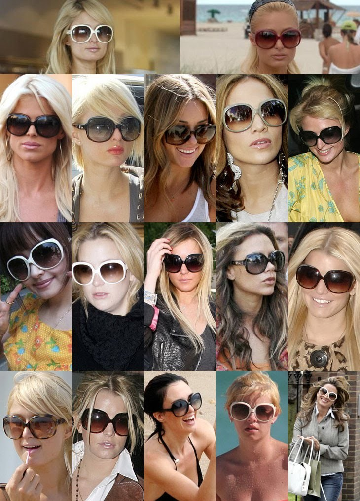 Sunglasses celebrites