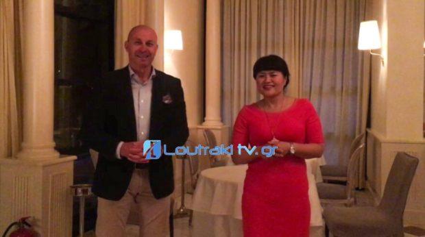 Ομαδικοί γάμοι Κινέζων στο Λουτράκι -  εκδήλωση στο χώρο της Club Hotel Casino Loutraki [Video]