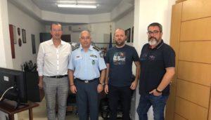 Συνάντηση Ε.Σ.Κορίνθου με Διευθυντή Αστυνομίας Κορινθίας κο. Τετράδη.