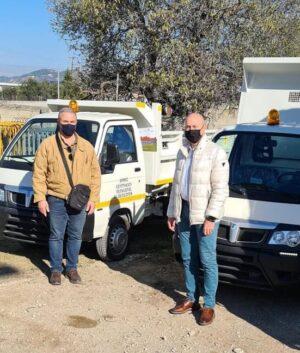 Δύο νέα απορριμματοφόρα με νέα χρηματοδότηση από το πρόγραμμα «Φιλόδημος ΙΙ» αγόρασε ο Δήμος Λουτρακίου - Περαχώρας - Αγίων Θεοδώρων.