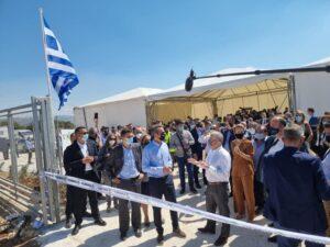 Στο Στεφάνι Κορινθίας ο Πρωθυπουργός Κυριάκος Μητσοτάκης εγκαινίασε φωτοβολταϊκό πάρκο